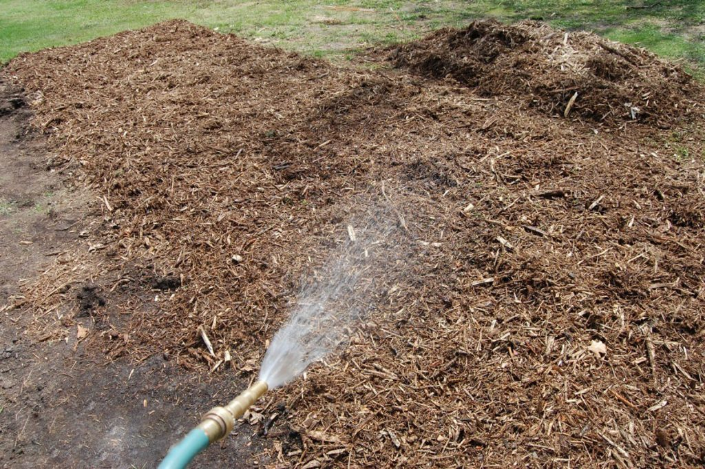 Charlotte Mulch Moisture Retention